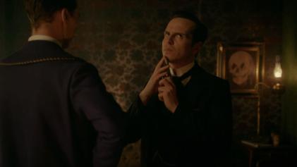 "Sherlock: ""The Abominable Bride"" Andrew Scott (Professor Moriarty)"
