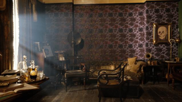 "Sherlock, ""The Abominable Bride"": 221b Baker Street"