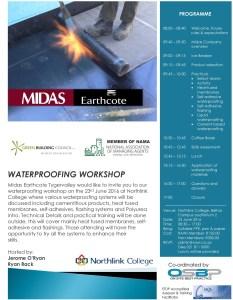 Waterproofing Workshop with Midas Paints Tygervalley