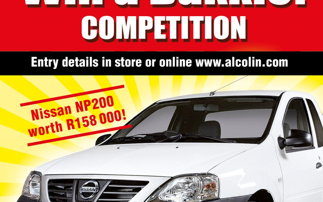 Alcolin Win A Bakkie Competition