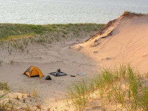 Good weekend to go camping in the Nordhouse Dunes