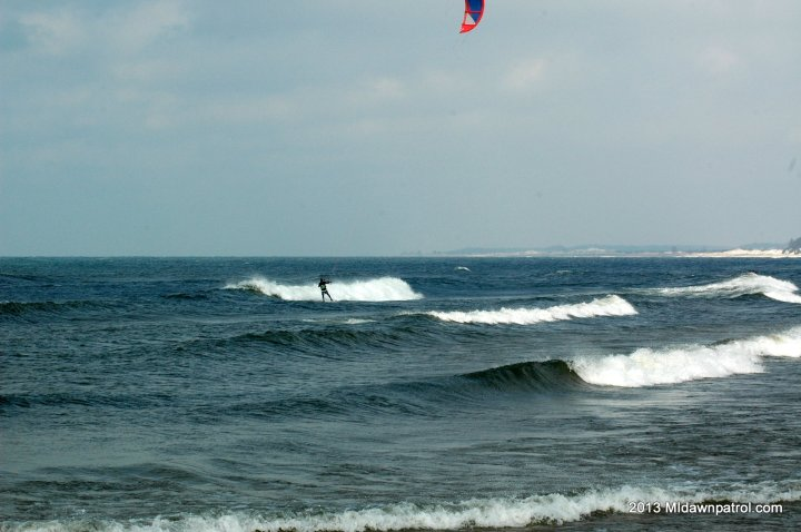 Great waves at Stearns Park