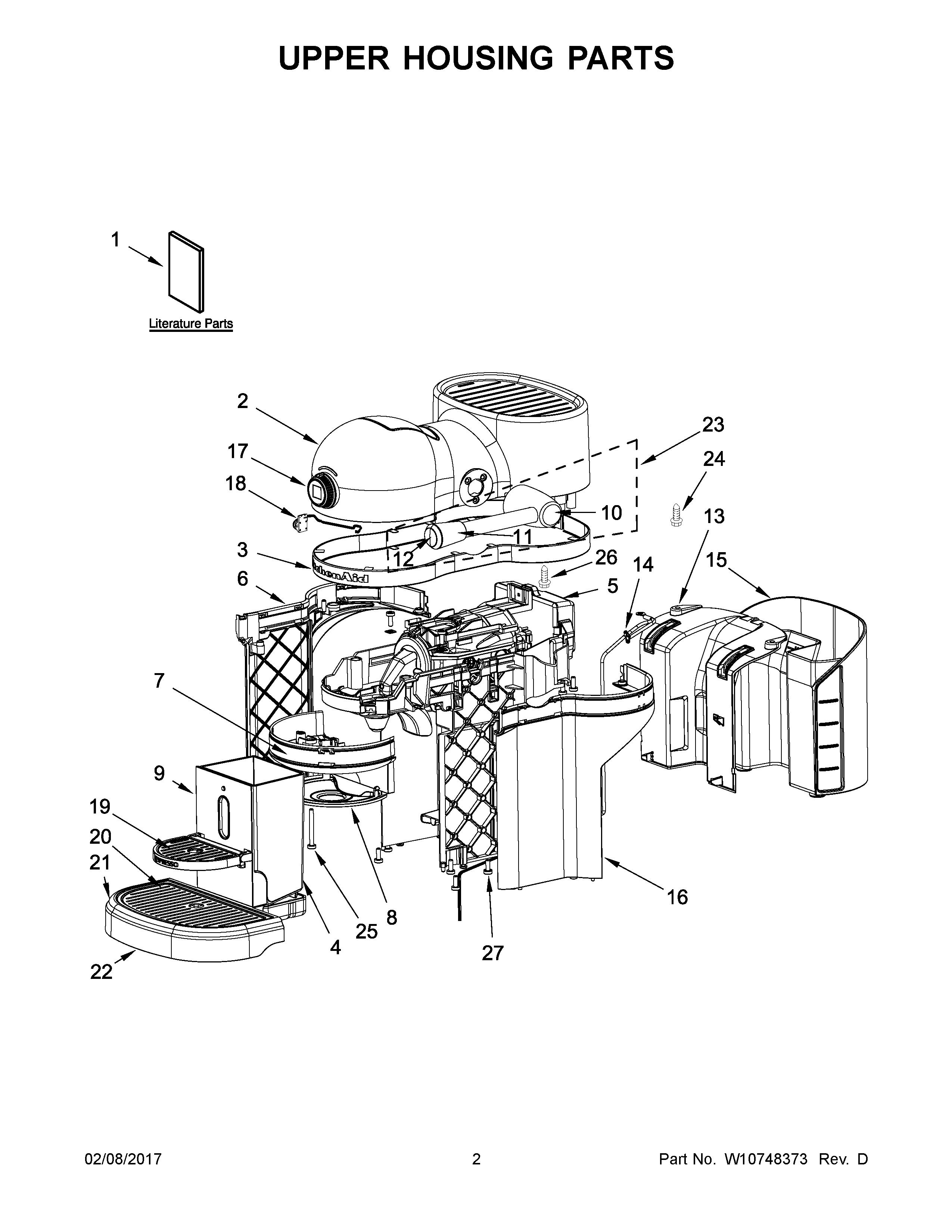 Plans et pièces pour Whirlpool Small Appliance, Coffee