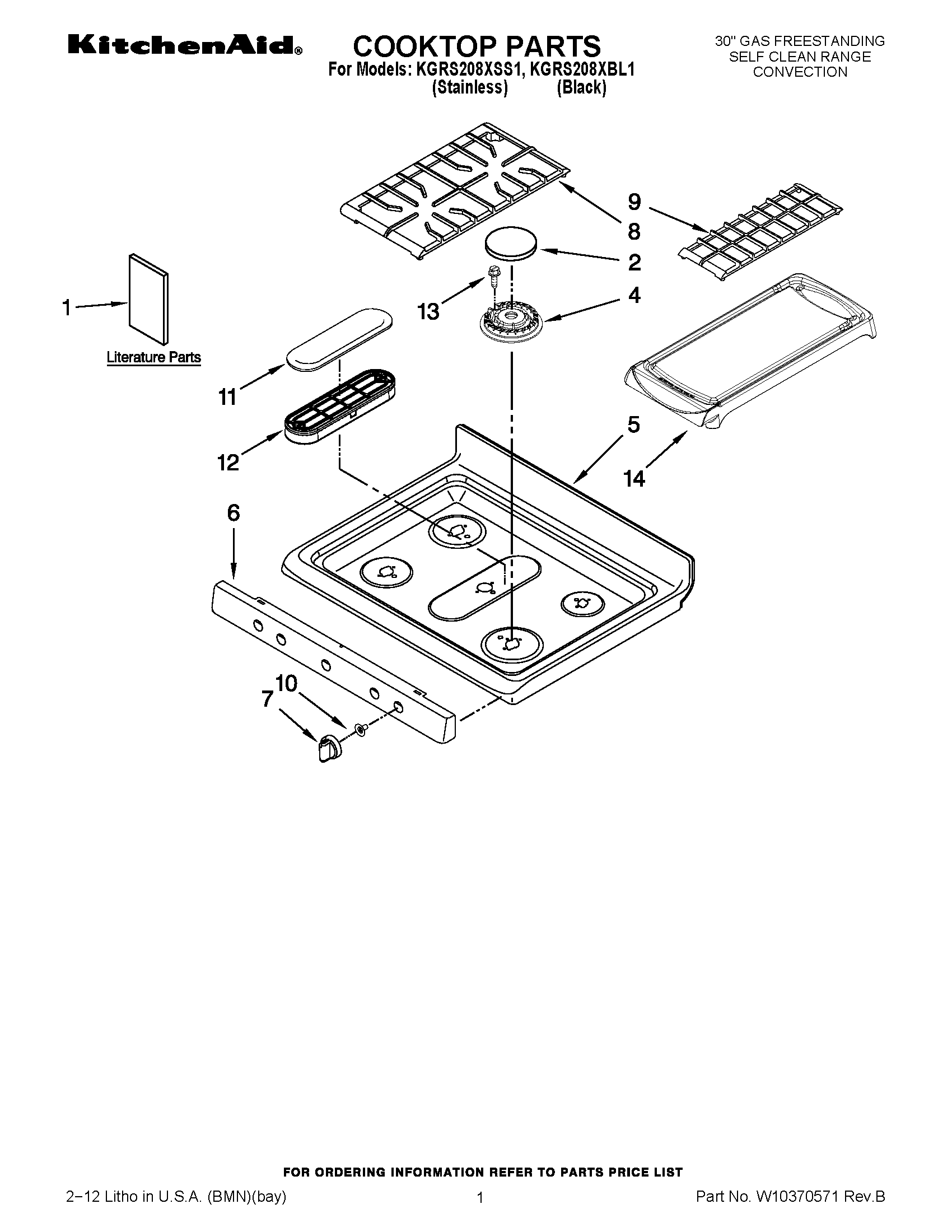 Parts and plans for Whirlpool 30
