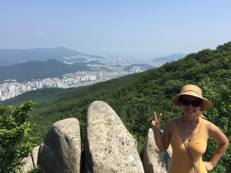 View of Busan from Geumjeongsanseong Fortress