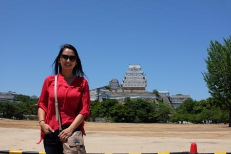 Himeji Castle, the White Rose