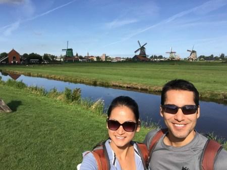 Zaandam windmills