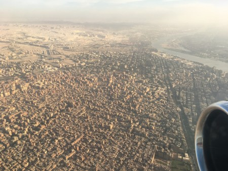 aerial view of Cairo