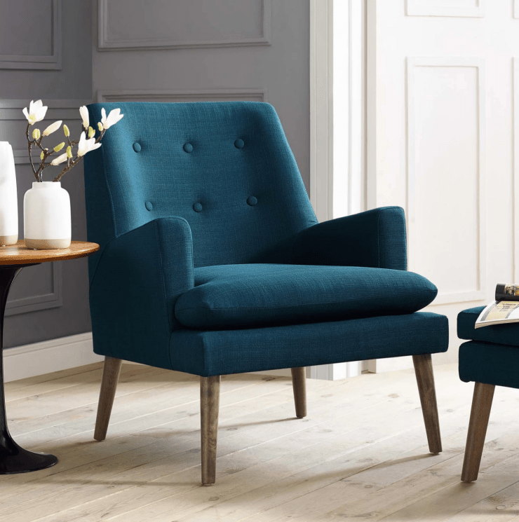 Mid Century Style Accent Chair