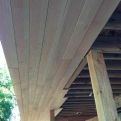 Concrete Countertops Kitchen Corner Cabinet Ideas The Douglas Fir T&g 4″ Soffits   Midcenturymess