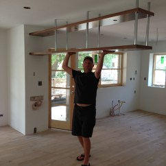 Hanging Kitchen Shelves Divider Cabinets Midcenturymess