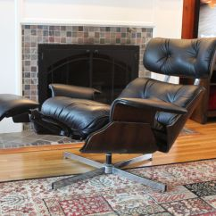 Recliner Office Chair Nz Tantra Sex Plycraft Eames Style With Built In Footrest  The