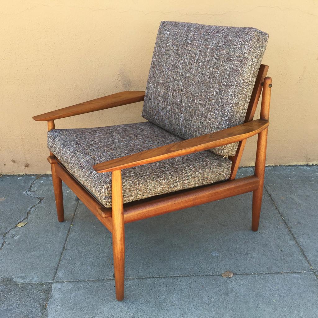 back bar sofa san jose ca toy hauler arne vodder teak lounge chair sold midcenturysanjose