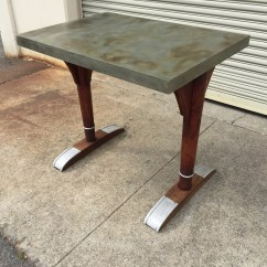 Antique French Bistro Table And Chairs Swing Chair La Jolla Vintage Midcenturysanjose