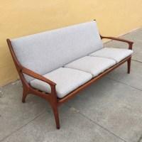 Danish Modern Teak Sofa - SOLD - midcenturysanjose