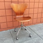 Series 7 Swivel Chair 3117 By Arne Jacobsen Sold