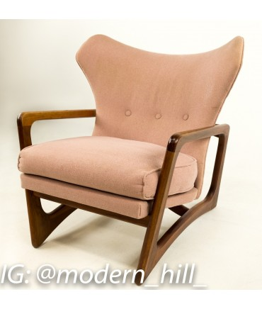 adrian pearsall rocking chair counter height bar chairs 2466 c wingback lounge