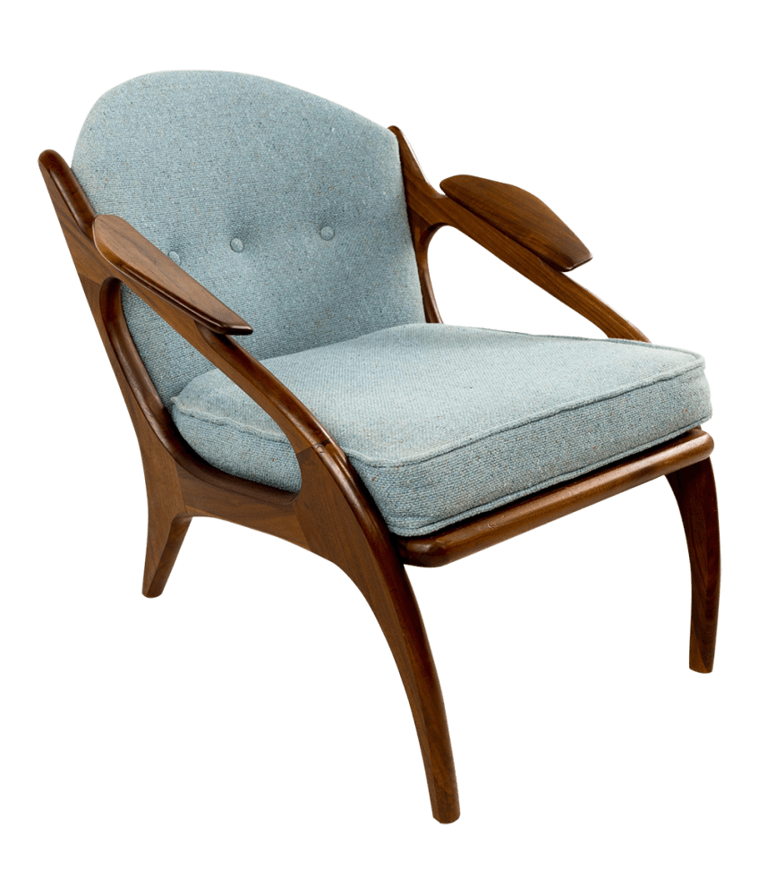 adrian pearsall lounge chair wheelchair gang 2249 c