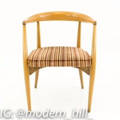 Mid Century Barrel Dining Chair Plastic Design With Price Lawrence Peabody For Nemschoff Chairs