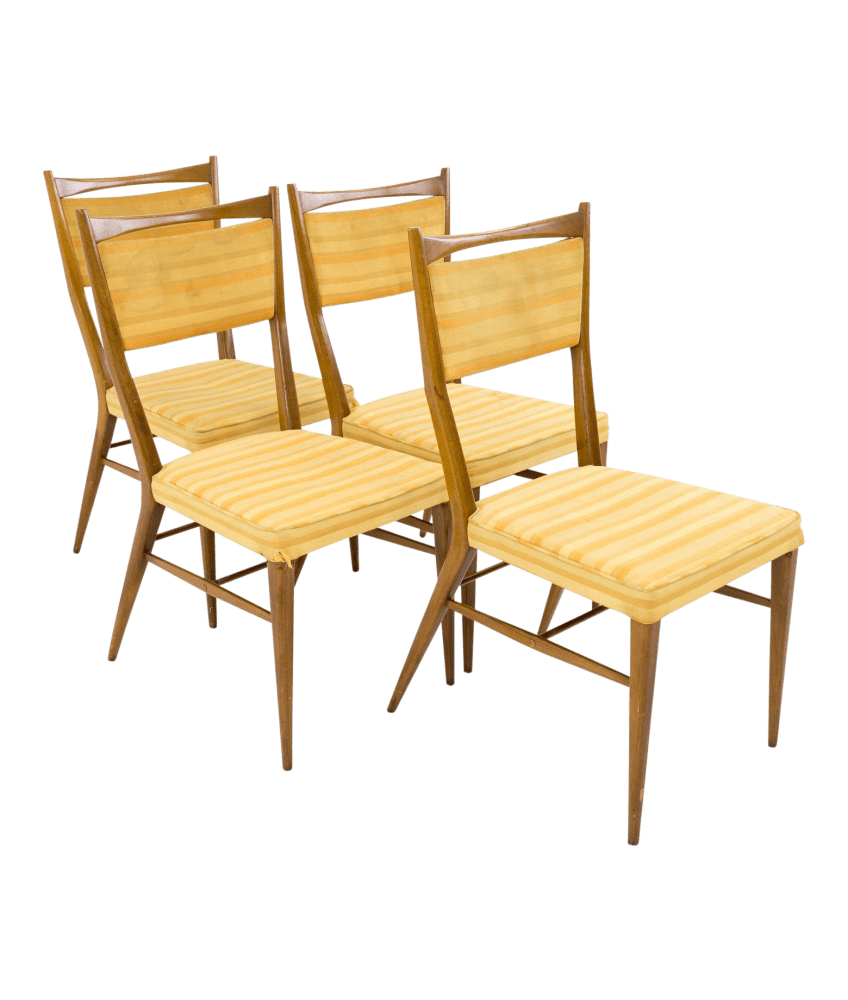 Paul Mccobb Chairs Paul Mccobb For H Sacks Sons Connoisseur Collection Mid Century Dining Chairs