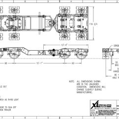 Truck Lite Trailer Wiring Diagram Reprap Xl Specialized 65 Ton Lowboy With Jeep & Booster | Midco Sales