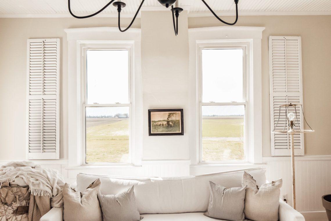 Adding a Window Sash to Existing Windows