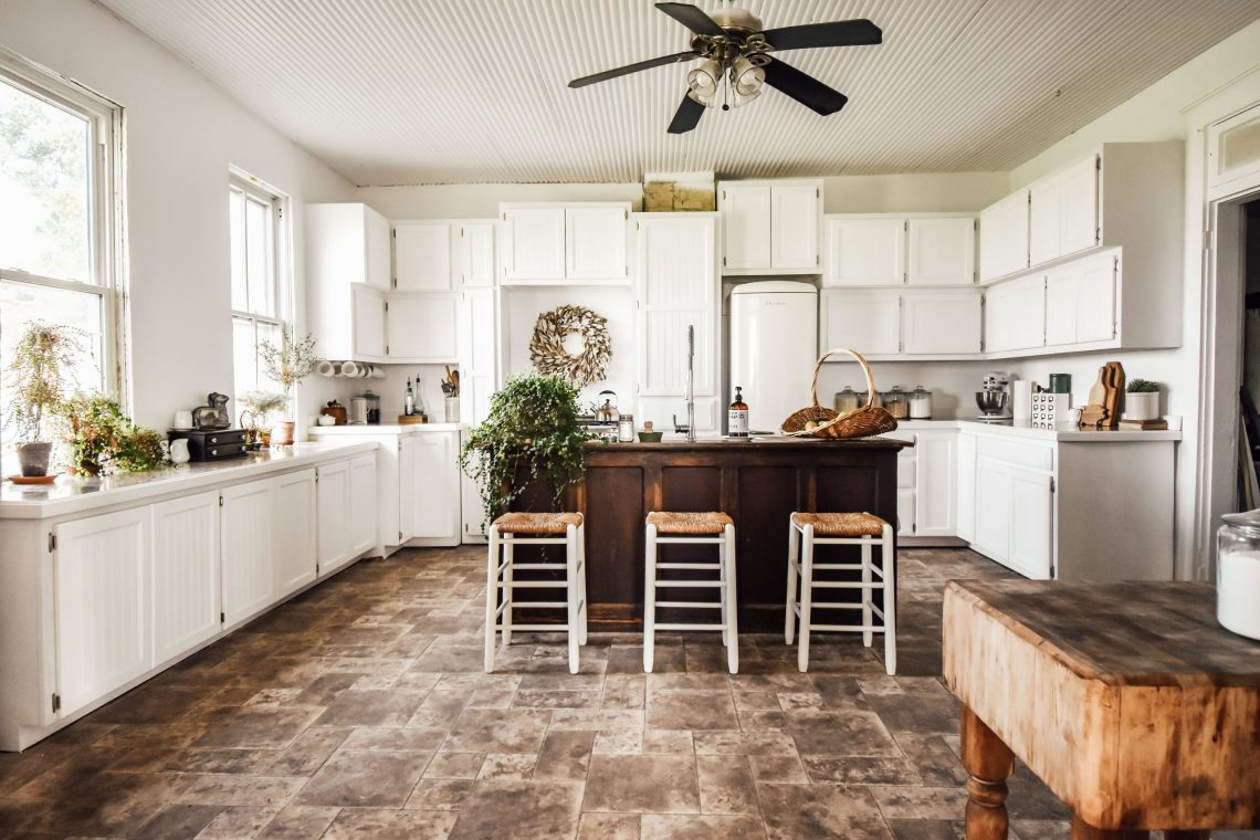 Painting the Farmhouse Kitchen
