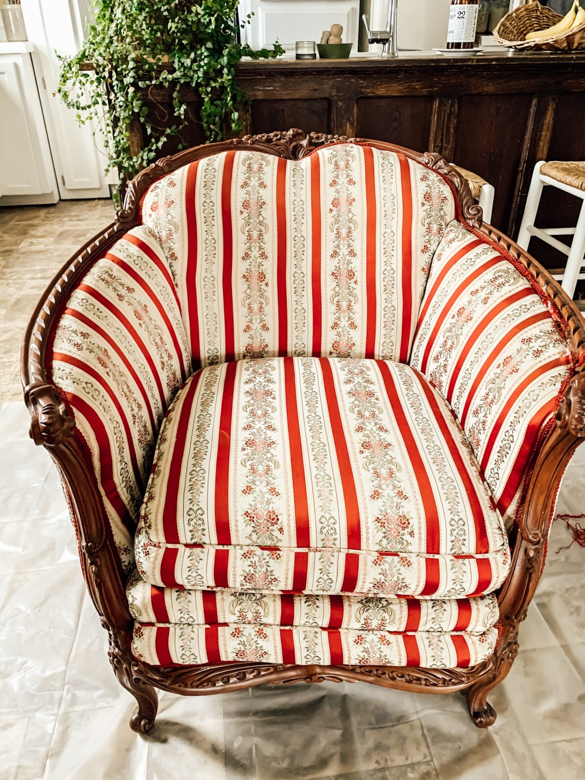 How to Deconstruct and Reupholster a Chair