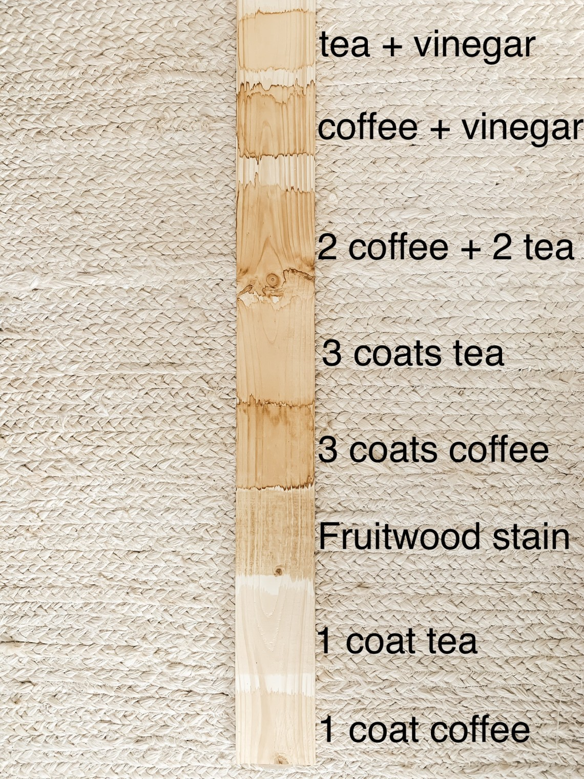 How to Stain Flooring with Coffee and Tea
