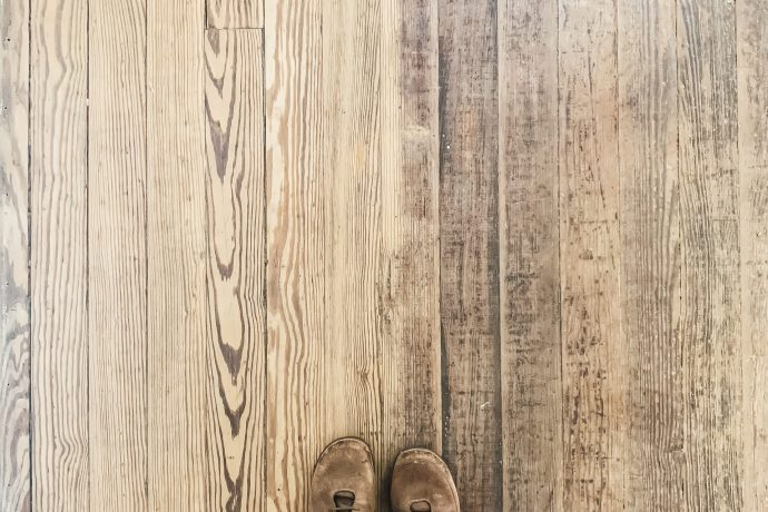 Sanding Old Hardwood Floors