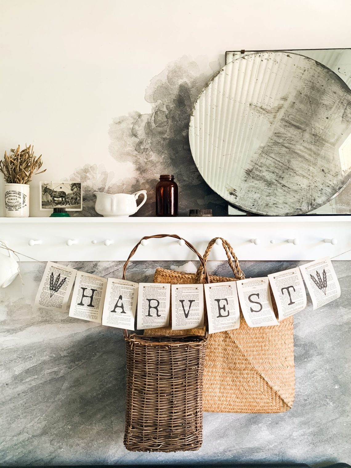Simple Thanksgiving Home Decor