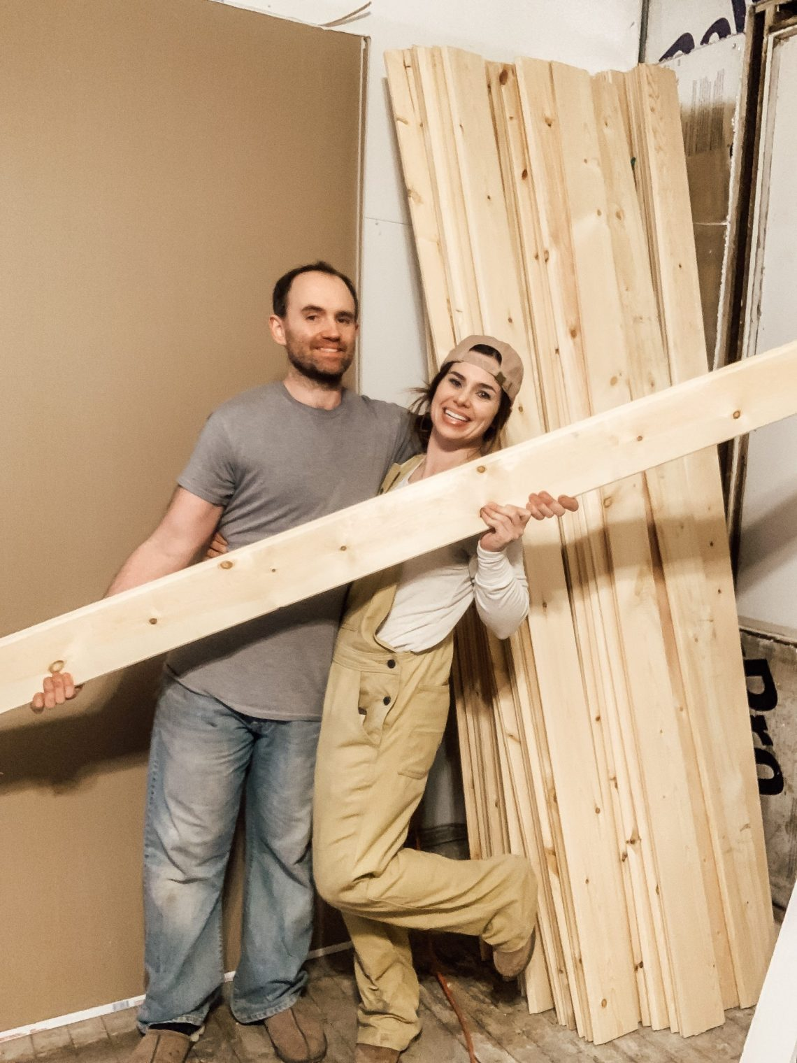 How to Install Tongue and Groove Board Walls