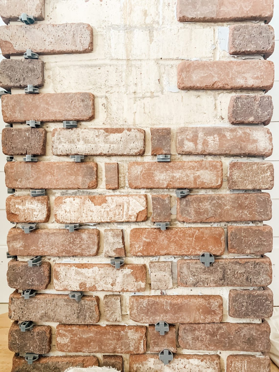 How to Cover an Existing Chimney with Brick Tile