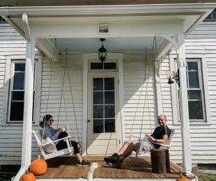 How to Hang Porch Swings with Rope