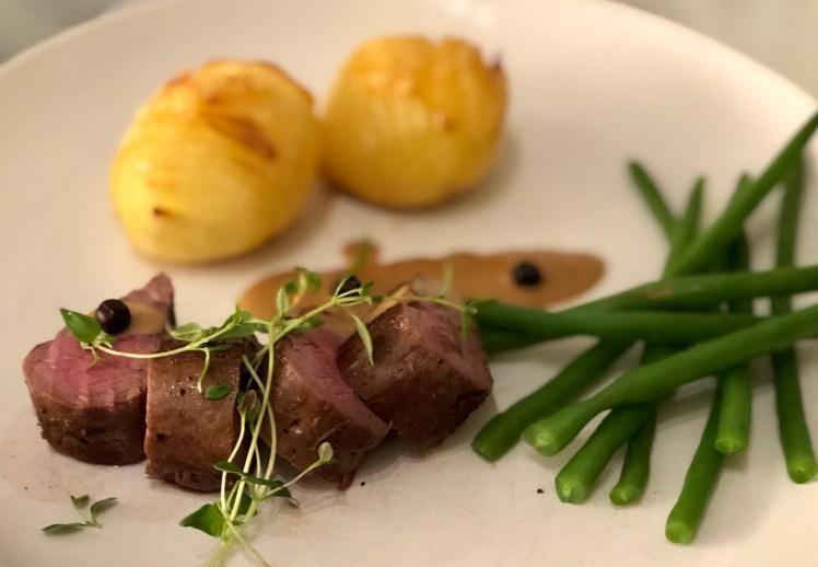 Recept hjortfilé gräddsås potatis
