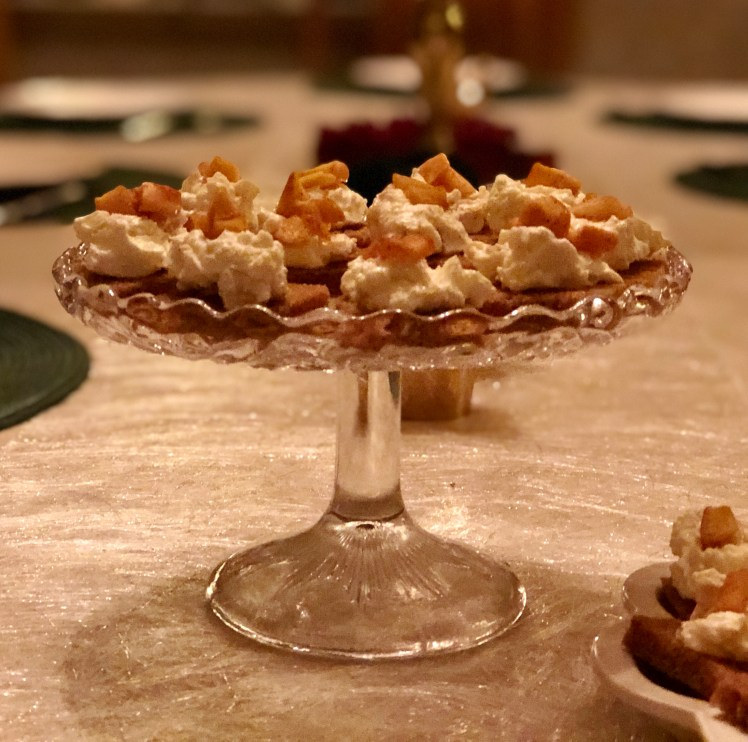 Recept adventsmingel stekta äpplen parmesan