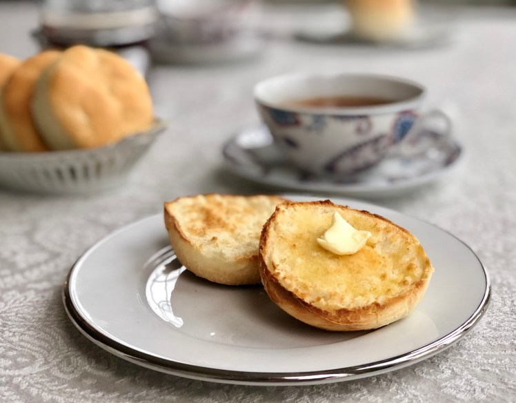 English muffin engelska muffins recept Cheese muffin ostmuffins