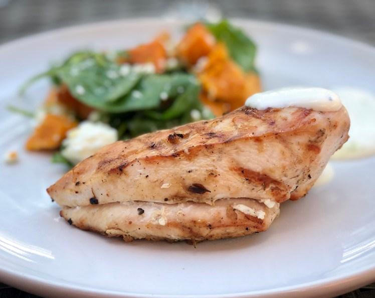 Grillad kycklingfilé recept marinad örter