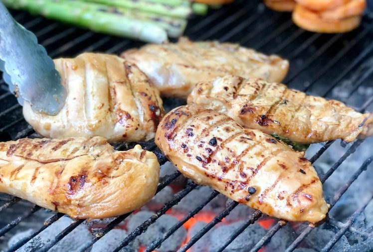 Recept grillad kycklingfilé