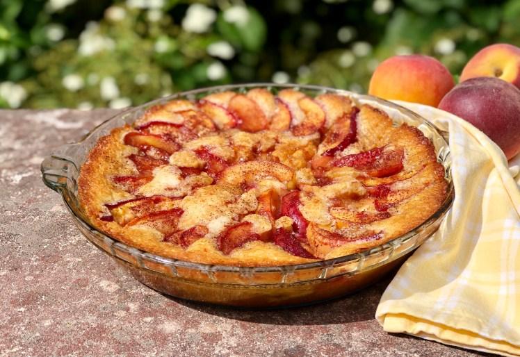 Persokopaj peach cobbler