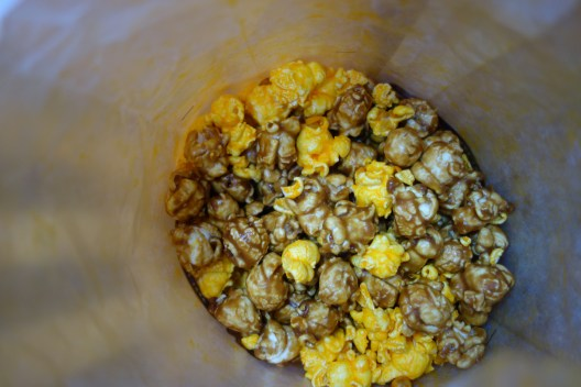 Sweet and cheesy popcorn from Garrett's