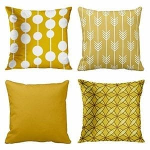best mid century modern pillow covers