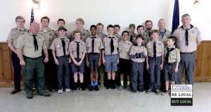 Troop 2950 Embraces the changing of the guard