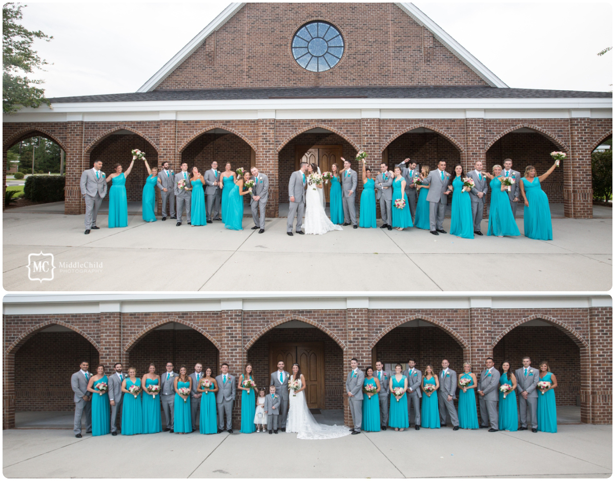 south strand wedding photo