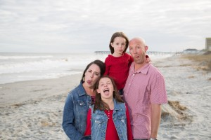family beach photography myrtle beach