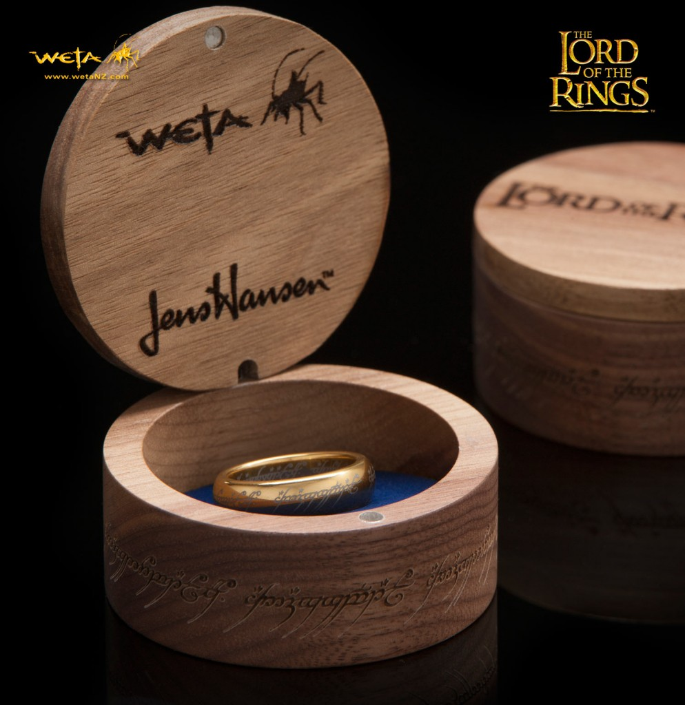 Middleearth News  Weta Releases Affordable One Ring