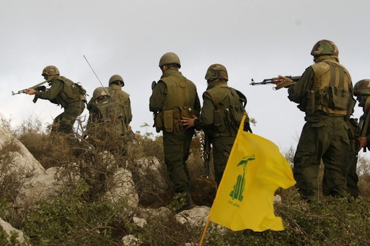 Photo: Hezbollah Patrol in Syria. Credit: Aberfoyle International Security (AIS)