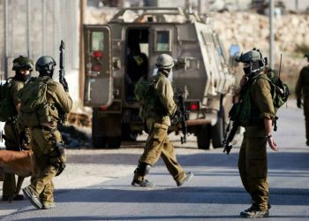 llustrative photo of the IDF in the West Bank. June 19, 2014. (photo credit: AP/Majdi Mohammed)