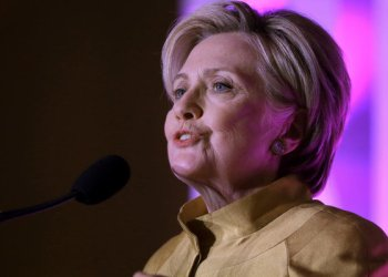 Hillary Clinton speak during a fundraising event for big Sister Association of Greater Boston/AP