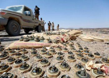 Engineers from the Yemeni army have dismantled scores of land mines, improvised explosive devices and guided misslles that were found in sites liberated last week in Saada province/REUTERS